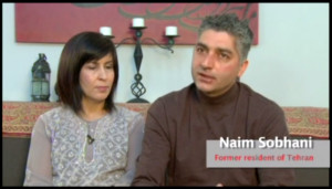 Naim Sobhani, one of the people interviewed in the video